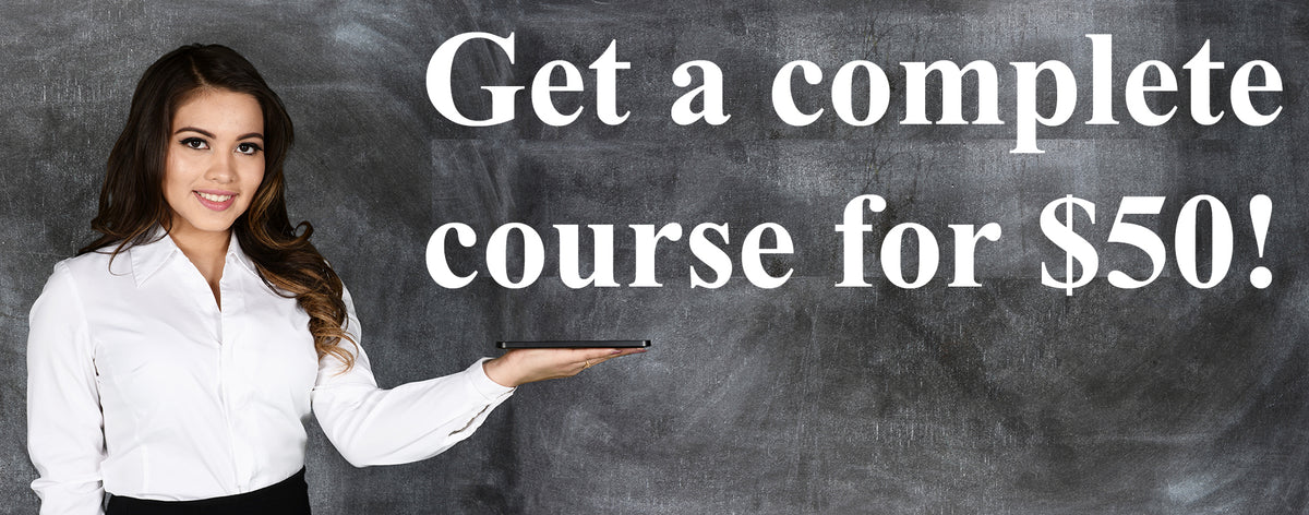 Complete Course - Discussions and Assignments For $50