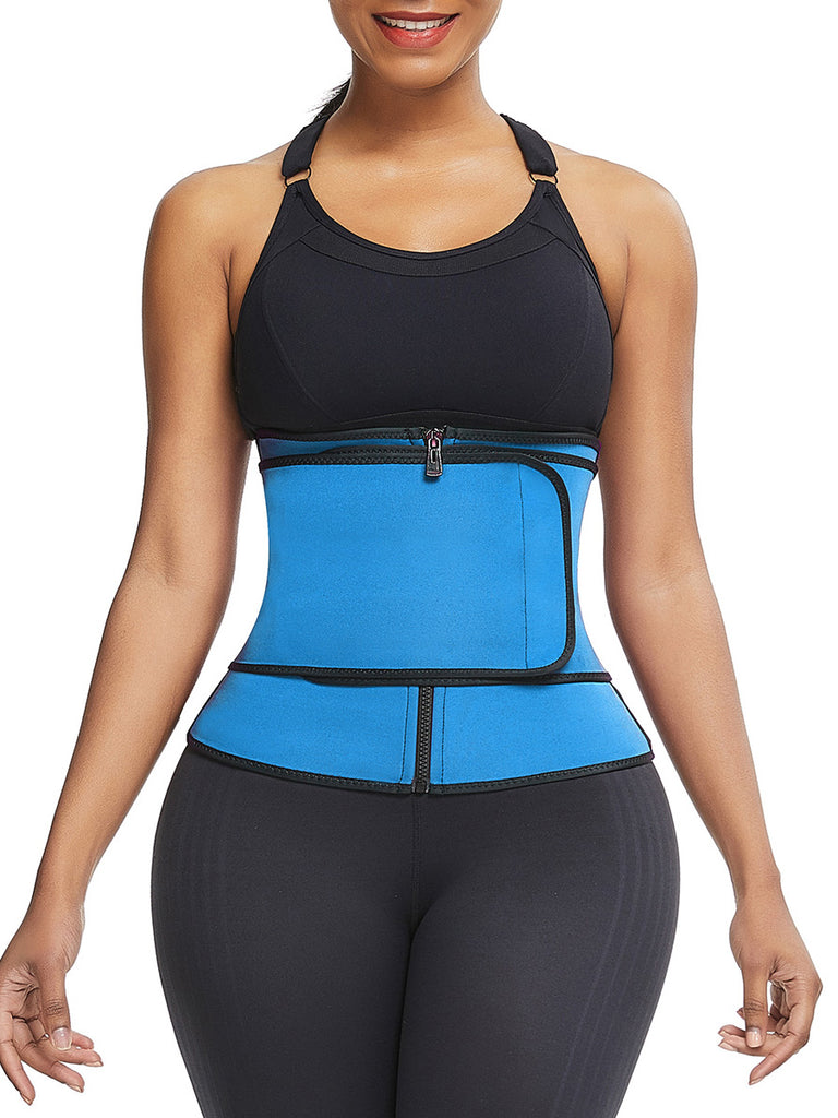Large Single Belt Midsection Neoprene Waist Trainer with Thermo Technology