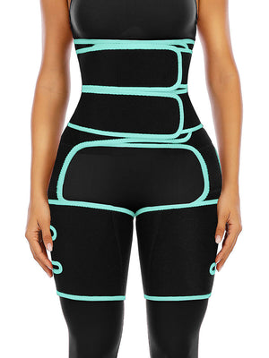 Double Compression Belt with Leg Support Waist Trainer