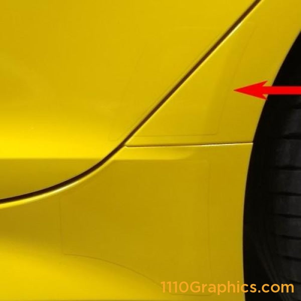 Kia Stinger quarter protector, left