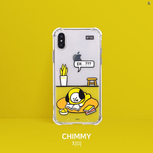 [LINE X BT21] Roomies Clear Slim Bumper Case