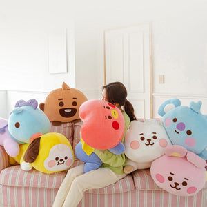 [LINE X BT21] Baby Super Pillow Cushion (Free Express Shipping)