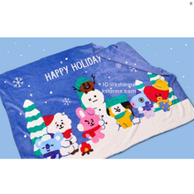 [LINE X BT21] Winter Season Blanket (Limited Edition)