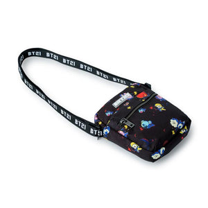 [LINE X BT21] Space Squad Pattern Cross Bag