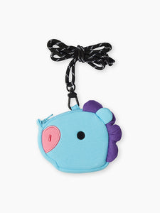 [LINE X BT21] Neck Strap Mini Pouch Baby Version