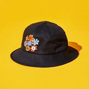 [LINE X BT21] Bucket Hat Flower Version