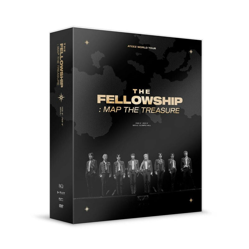 ATEEZ WORLD TOUR THE FELLOWSHIP: MAP THE TREASURE SEOUL DVD