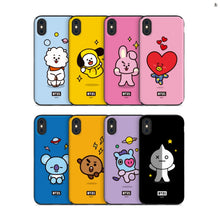 [LINE X BT21] Card + Mirror Guard Up Case For iPhone and Samsung (Free Shipping)