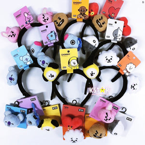 [LINE x BTS] BT21 Headband / Hair Tie (Free Shipping)