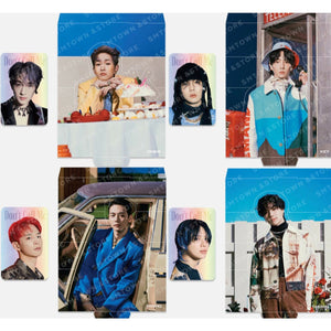 [SMTOWN] Official SHINee Hologram Photocard Set