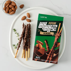 LOTTE Almond Peppero 37g