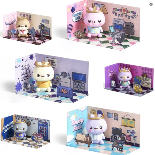 [TWOTUCKGOM X MONSTA X] Acrylic Figure Room SET