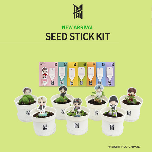 [BIG HIT] TinyTAN Seed Stick Set