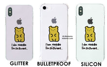 [AKAN] Jungkook Bear Jelly Case (For iPhone and Samsung)