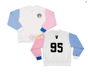 BTS Two Color Sleeves Sweater