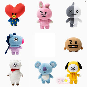 [LINE x BT21] Plush Standing Doll (Free Shipping)