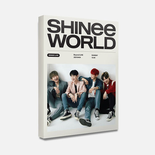 [SMTOWN] Official SHINee World PostCard Book