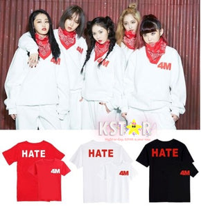 4Minute's Style 4M Hate Shirt
