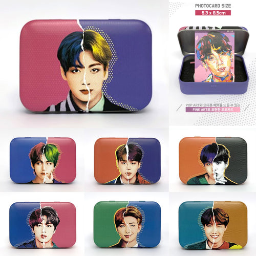[BIG HIT] BTS Lens Case + Photocard Member Package