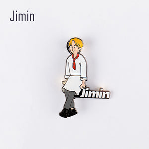 [BTS WORLD] Official Pin Badge