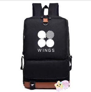 BTS Logo/Wings Backpack
