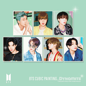 [BIG HIT] BTS Official DIY Cubic Painting Ver 4 + Photocard (Free Express Shipping)