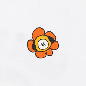 [LINE X BT21] CHARACTER Shirt Flower Version