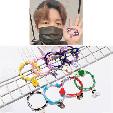 BTS Member Colorful Bracelet