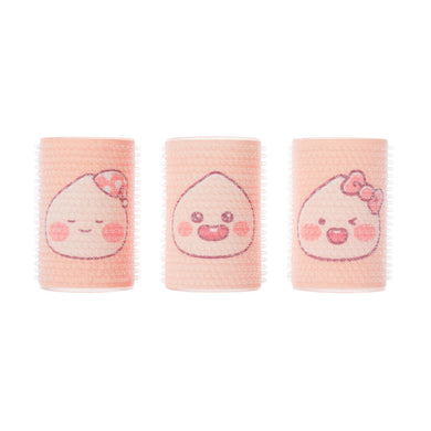 [KAKAO FRIENDS] Lovely Apeach Hair Roll 3P