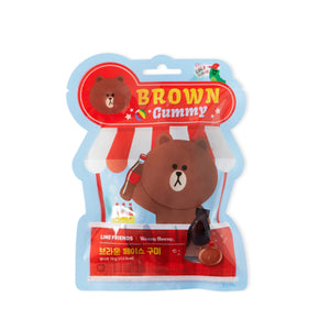 [LINE FRIENDS] Brown Gummy Cola