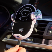 [LINE X BT21] Fast Wireless Charging for Vehicles Baby Version