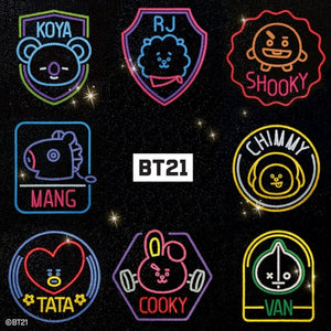[BIG HIT] BT21 Official DIY Cubic Painting Ver. Wappen