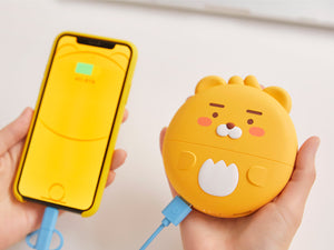 [KAKAO FRIENDS] Fast Charging Power Bank 10,000mAh (Free Express Shipping)