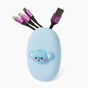 [LINE X BT21] Multi Cable Pouch Set