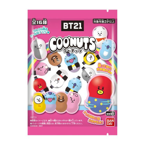 [BT21 JAPAN] Coonuts Blind Pack 3ea