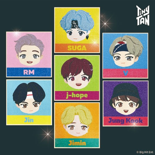 [BIG HIT] TinyTAN Official DIY Cubic Painting Basic Ver.