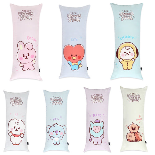[LINE X BT21] Baby Sketch Body Pillow