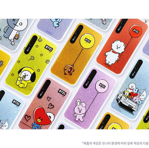 [LINE X BT21] Hanging Out Light Up Case (Hybrid) For iPhone (Free Shipping)