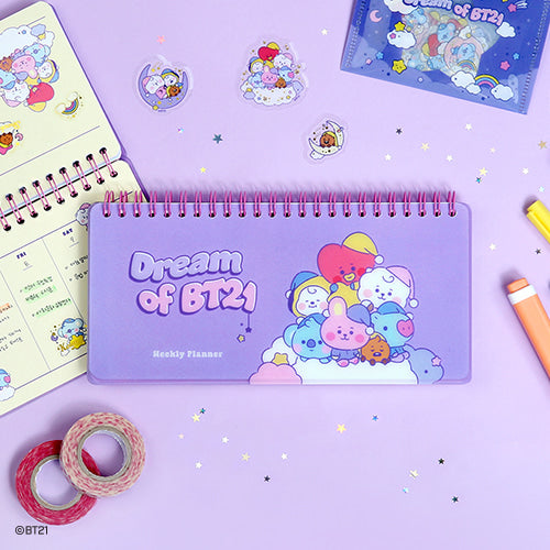 [LINE X BT21] Weekly Planner Dream of Baby Ver