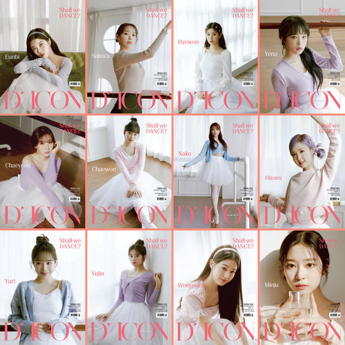 [DICON] IZ*ONE Shall We Dance? Member Edition + Free Express Shipping