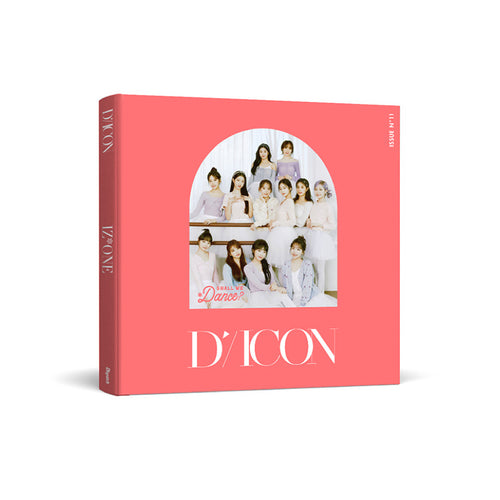 [DICON] IZ*ONE Shall We Dance? DELUXE Edition + Free Express Shipping