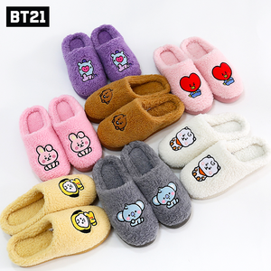 [LINE X BT21] Baby Boucle Slippers