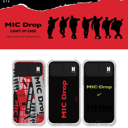 [BIG HIT] MIC DROP Light Up Case for iPhone and Galaxy