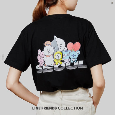 [LINE X BT21] Seoul City Tee Edition