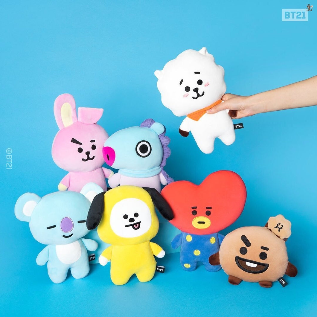[LINE X BT21] Mini Flat Body Cushion
