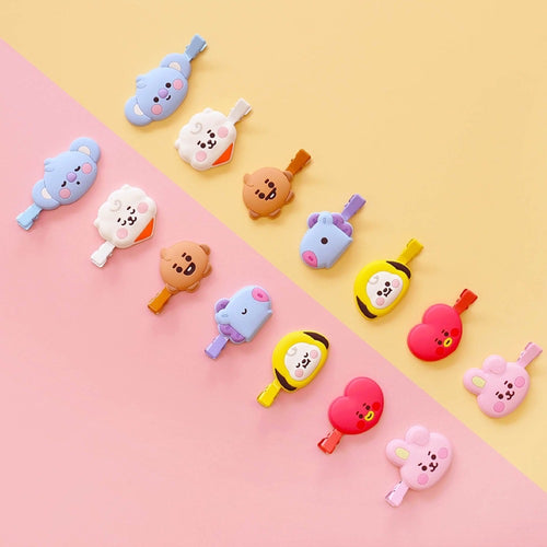 [BT21 JAPAN] Baby Face Hair Clip