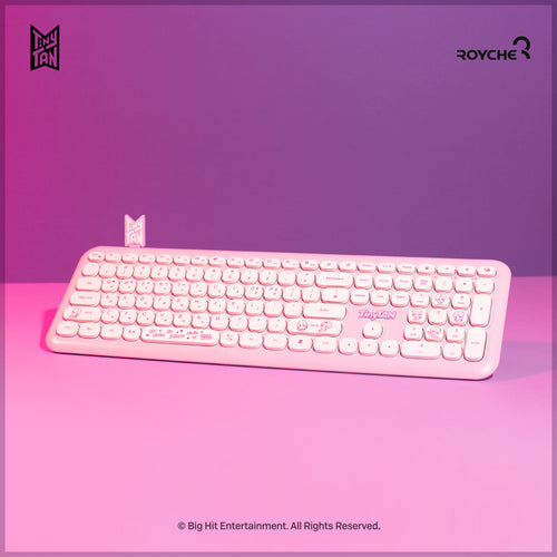 [BIG HIT] TinyTAN Official Wireless Keyboard