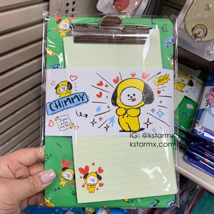 [LINE X BT21] Clip Board Pad Set