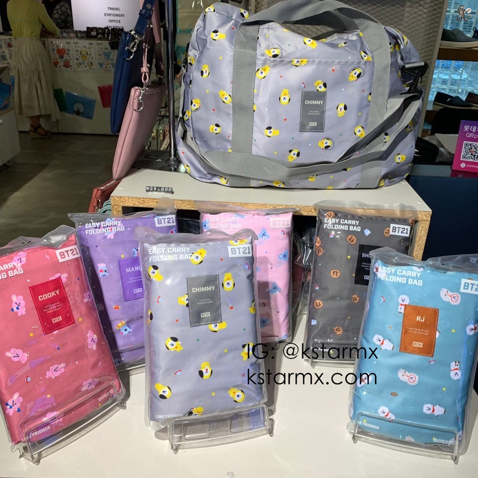 [MONOPOLY X BT21] Easy Carry Folding Bag