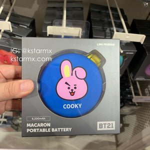 [LINE X BT21] Macaron Portable Battery (Free Expedited Delivery)
